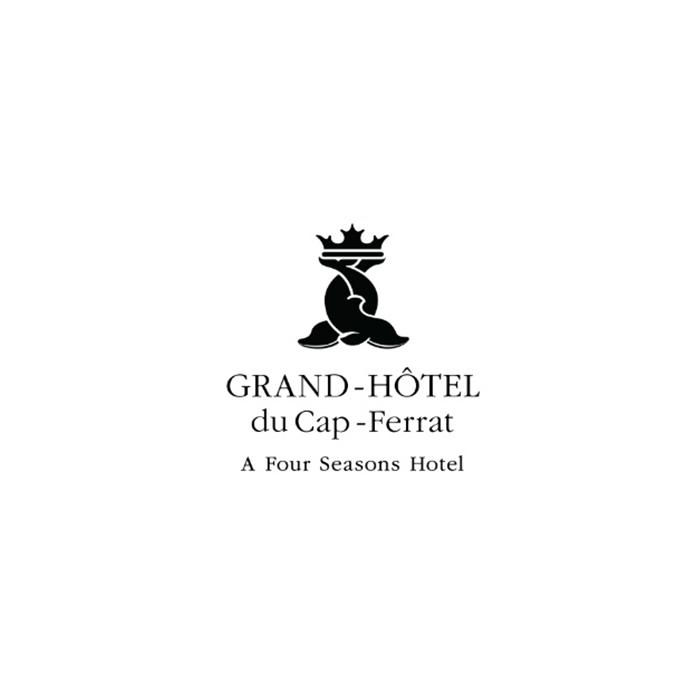 Logo de grand-hôtel du cap-ferrat a four season hotel 4 étoiles luxe classe cocktail chef cuisinier reportage vidéo promotionelle film de présentation