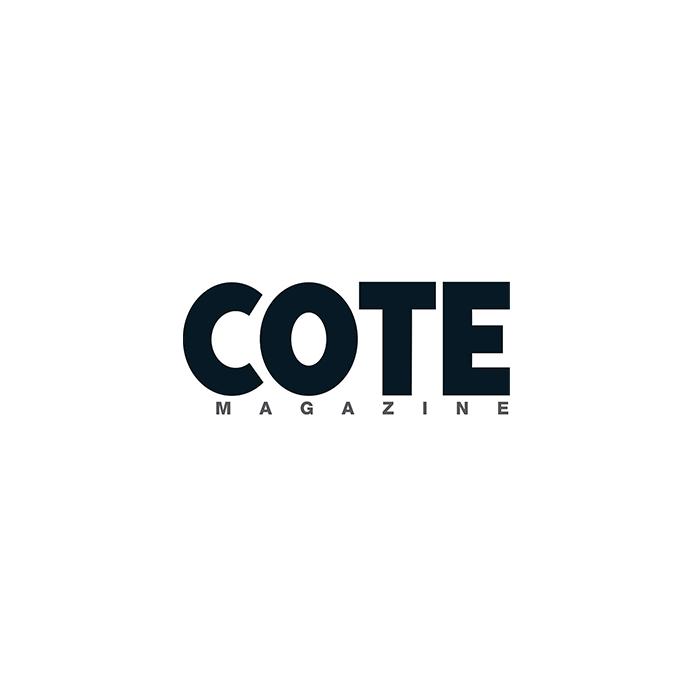 Logo de la société de du magazine COTE, magazine de marques, de produits et de services luxeus sur la côte d'azur monaco et saint tropez international