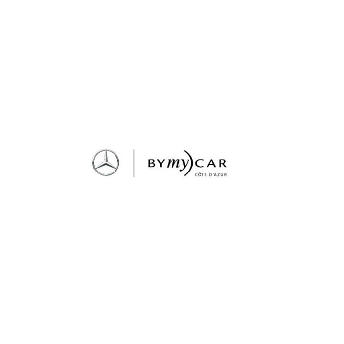 Logo de la société de voiture By my car Mercedes côte d'azur