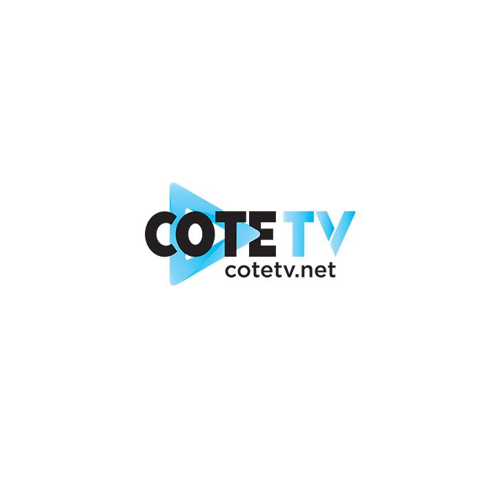 Logo de la société vidéo de cote magazine cote tv cote d'azur french riviera monaco nice cannes saint tropez