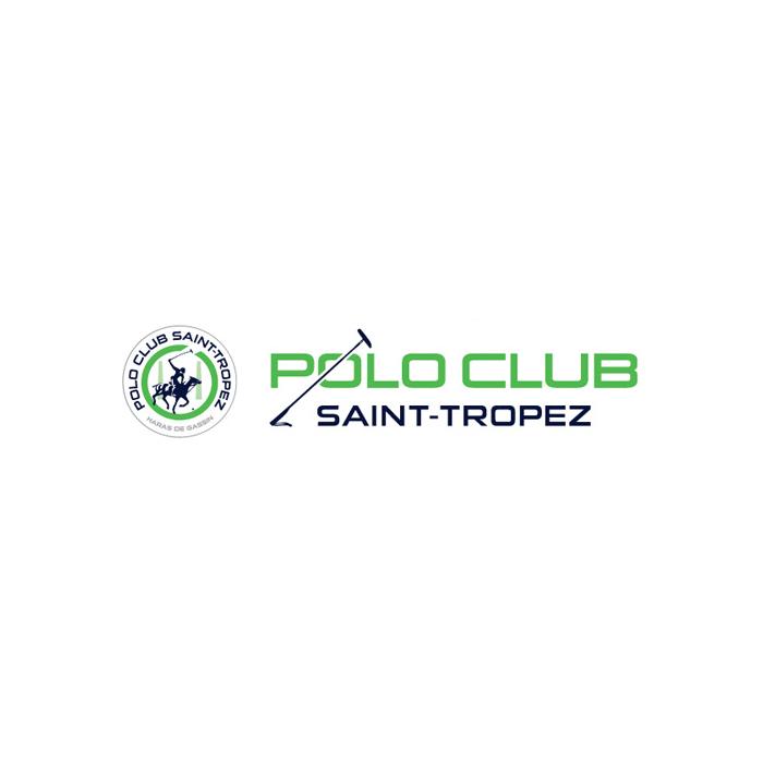 Logo du polo club de saint tropez french riviera le sud de la france chevaux animaux reportage documentaire animaliers sports sportifs compétition courses