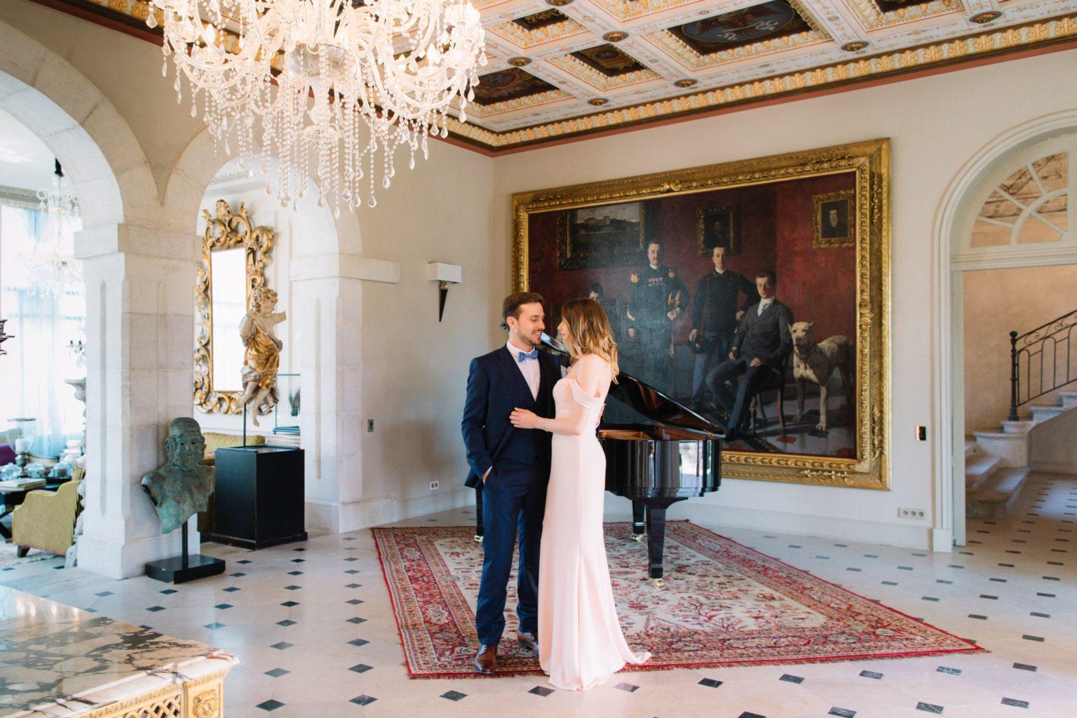 Une vidéo de mariage réalisé au chateau ditter près Nice